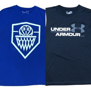 Under Armour Boys Bundle of T-Shirt/Tank Size YLG